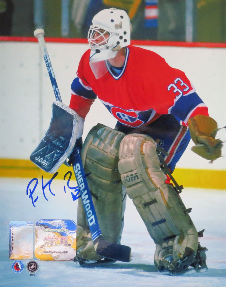 Patrick Roy Signed Montreal Canadiens ROOKIE YEAR 8x10