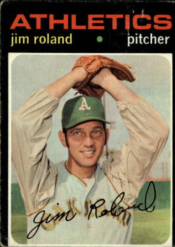 Photo of 1971 Topps #642 Jim Roland