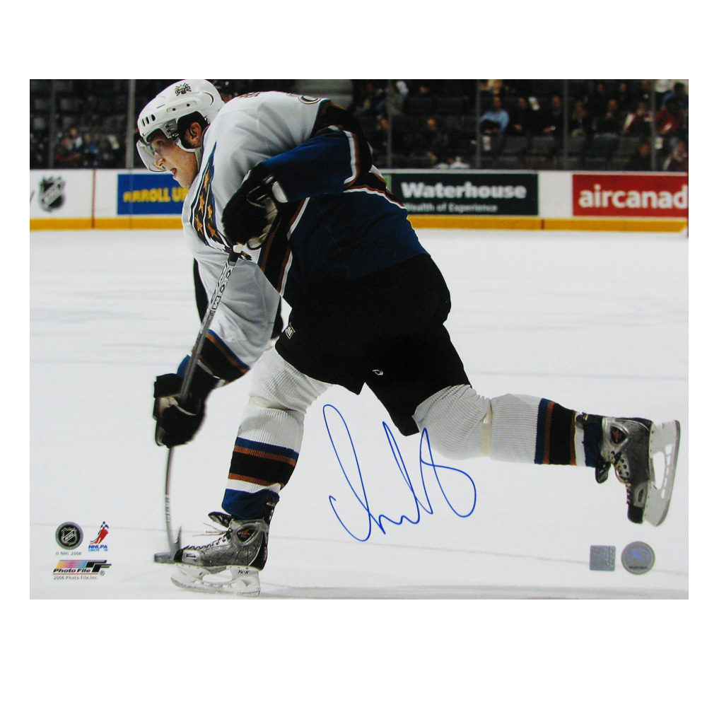 ALEXANDER OVECHKIN Signed Washington Capitals 16 X 20 Photo - 79024