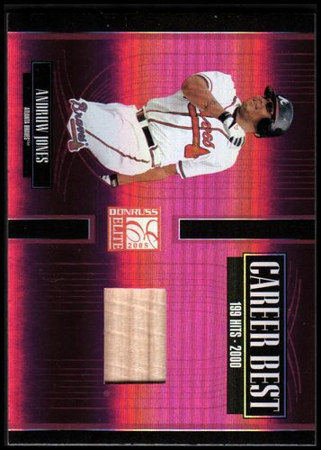 Photo of 2005 Donruss Elite Career Best Bats #4 Andruw Jones/250