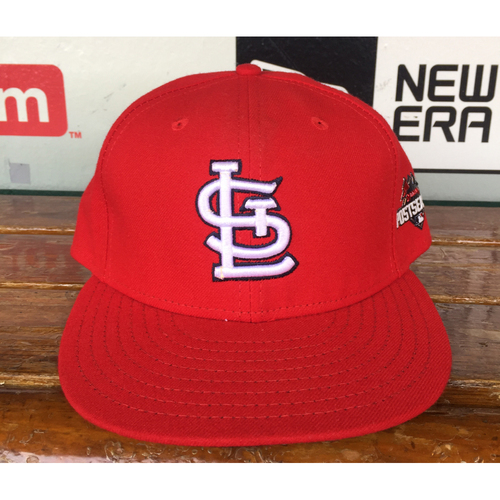 Photo of Cardinals Authentics: Mike Matheny Home Red 2015 Postseason Cap