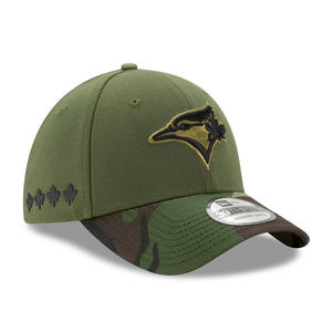 2017 Memorial Day Stretch Fit Cap Green Camo by New Era