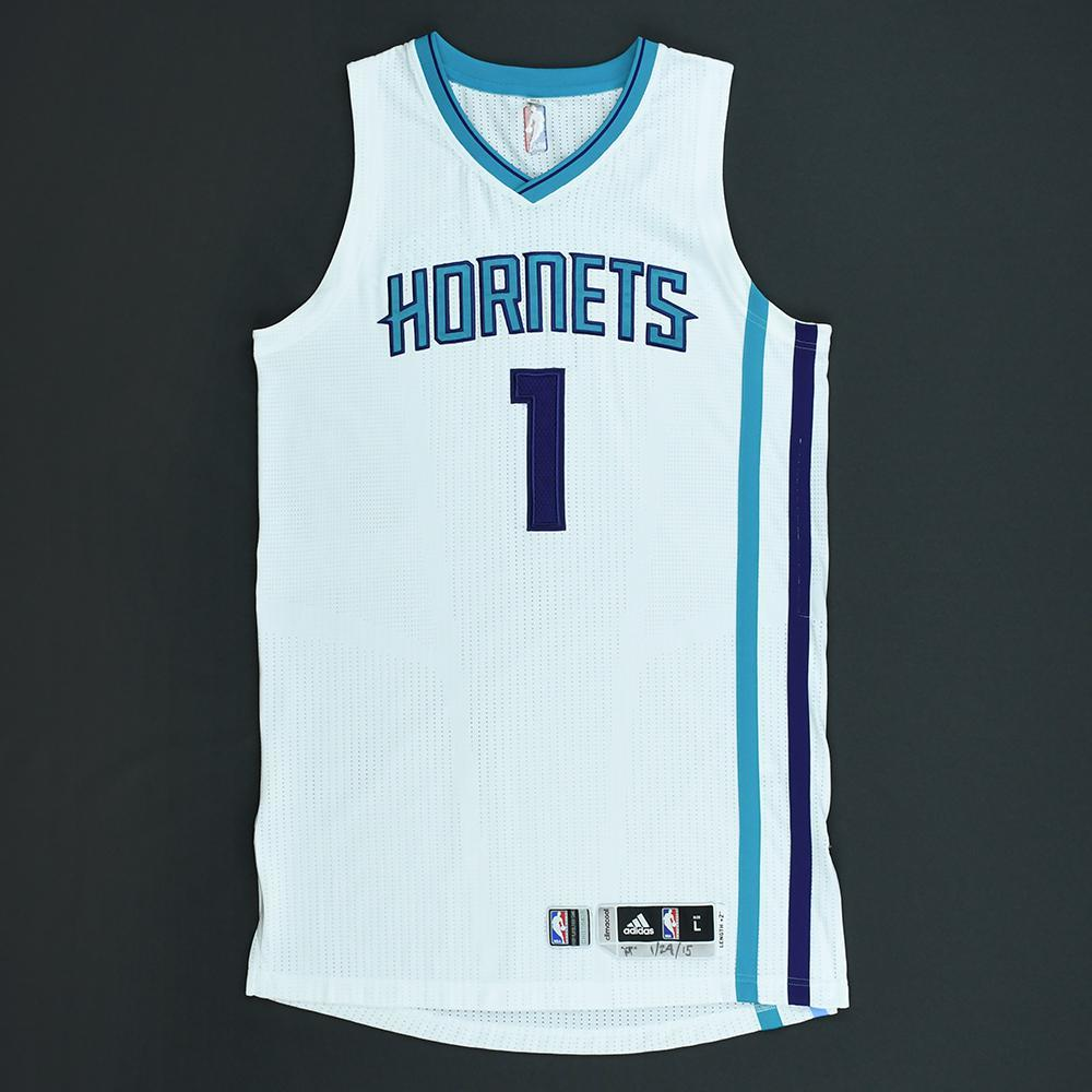 Lance Stephenson - Charlotte Hornets - Game-Worn Jersey - 2014-15 NBA Season
