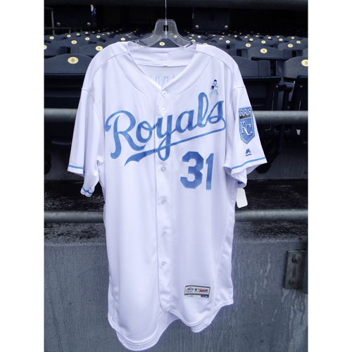 Photo of Ian Kennedy Game-Used Father's Day Jersey (Size 48)