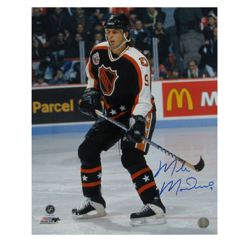 MIKE MODANO Signed All Star Game 16 X 20 Photo - Dallas Stars - 79025