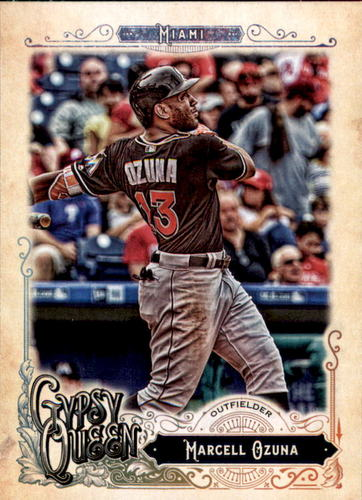 Photo of 2017 Topps Gypsy Queen #191 Marcell Ozuna