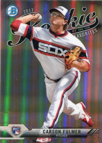 Photo of 2017 Bowman Chrome Rookie of the Year Favorites Refractors #ROYF13 Carson Fulmer