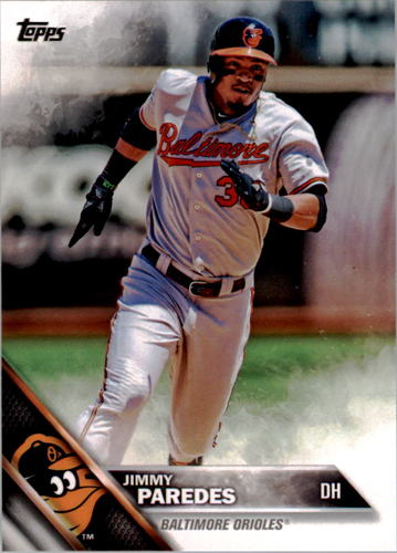 Photo of 2016 Topps #6 Jimmy Paredes