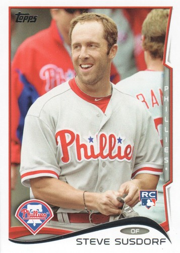 Photo of 2014 Topps #498 Steve Susdorf RC