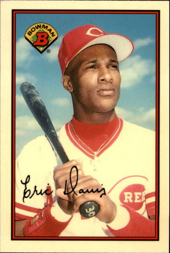Photo of 1989 Bowman Tiffany #316 Eric Davis