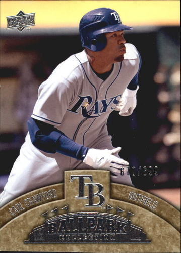 Photo of 2009 Upper Deck Ballpark Collection #12 Carl Crawford