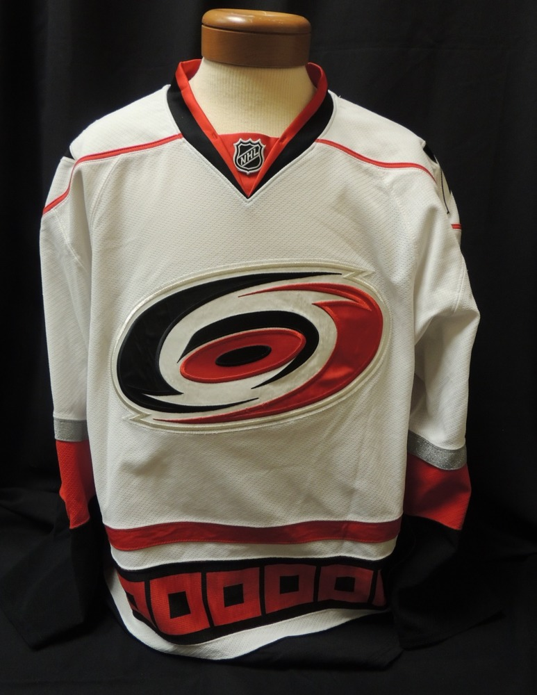 Justin Peters #60 Autographed, Game Worn Jersey