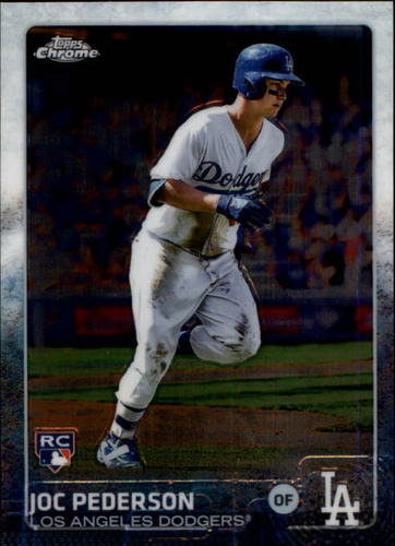 Photo of 2015 Topps Chrome #129A Joc Pederson Rookie Card