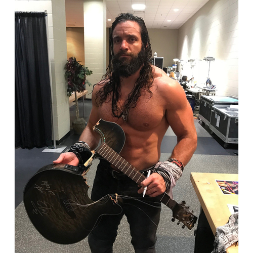 Photo of Elias USED & SIGNED Guitar (RAW - 10/23/17)