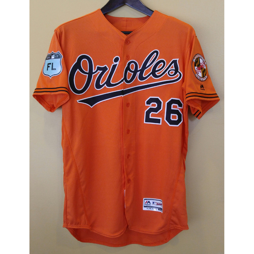 Photo of Buck Showalter - Spring Training Jersey: Team-Issued