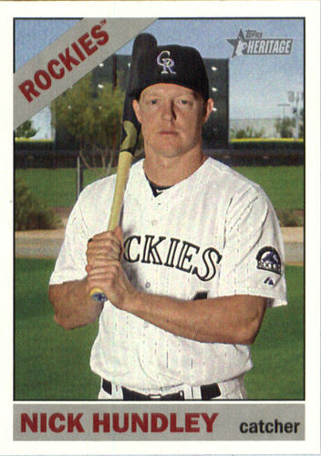 Photo of 2015 Topps Heritage #649 Nick Hundley
