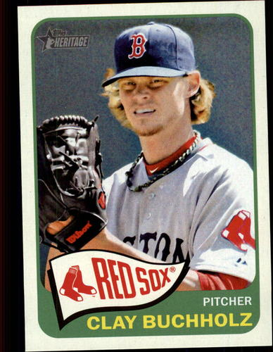 Photo of 2014 Topps Heritage #213 Clay Buchholz