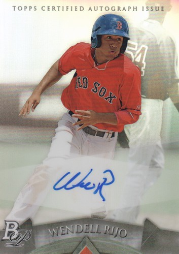 Photo of 2014 Bowman Platinum Prospect Autographs #APWR Wendell Rijo