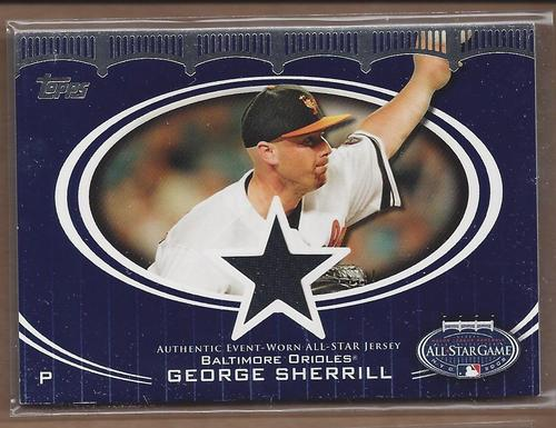 Photo of 2008 Topps Update All-Star Stitches #GFS George Sherrill