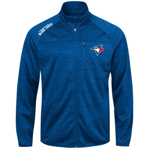 Toronto Blue Jays Fleece Mindset Full Zip Sweater by G3