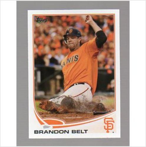 Photo of 2013 Topps #385 Brandon Belt