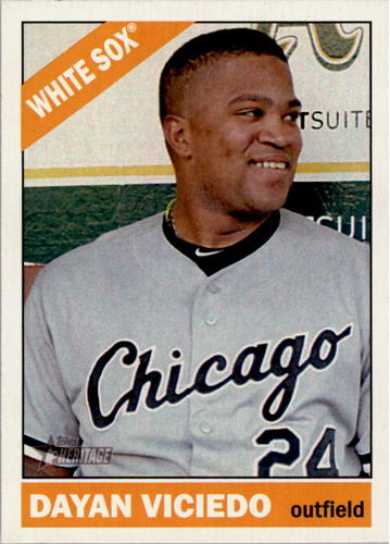 Photo of 2015 Topps Heritage #402 Dayan Viciedo