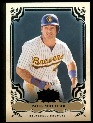 Photo of 2013 Topps Triple Threads Onyx #100 Paul Molitor