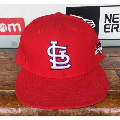 Photo of Cardinals Authentics: Derek Lilliquist Home Red 2015 Postseason Cap
