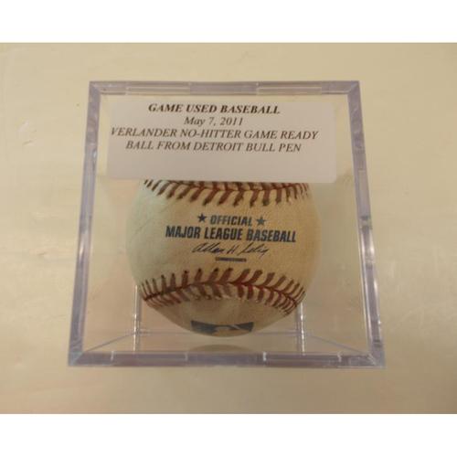 Photo of Game Ready Baseball: Justin Verlander No Hitter Game 2011