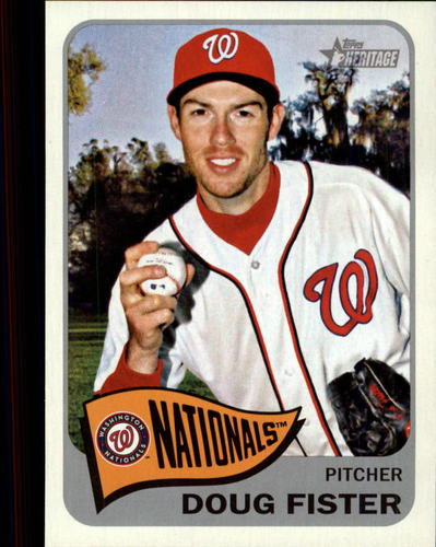 Photo of 2014 Topps Heritage #214 Doug Fister