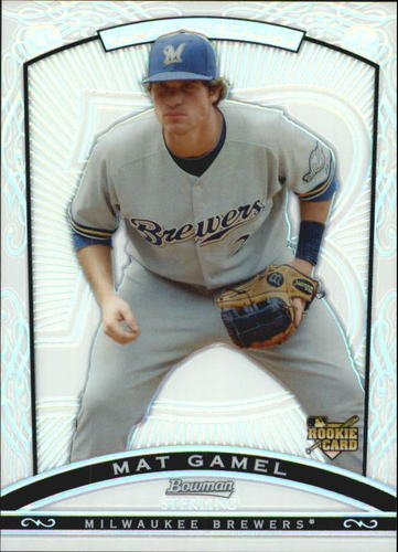 Photo of 2009 Bowman Sterling Refractors #MG Mat Gamel