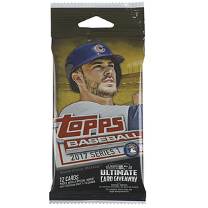 2018 MLB Series 1 12 Pack Baseball Cards by Topps