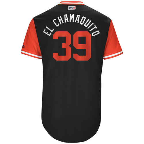 "Photo of Alen ""El Chamaquito"" Hanson Chicago White Sox Game-Used Players Weekend Jersey"