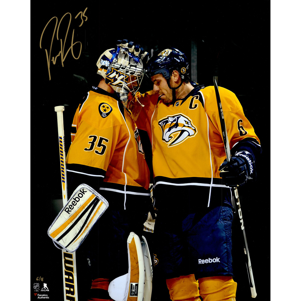Pekka Rinne Nashville Predators Autographed 16