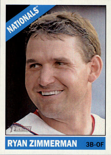 Photo of 2015 Topps Heritage #26 Ryan Zimmerman
