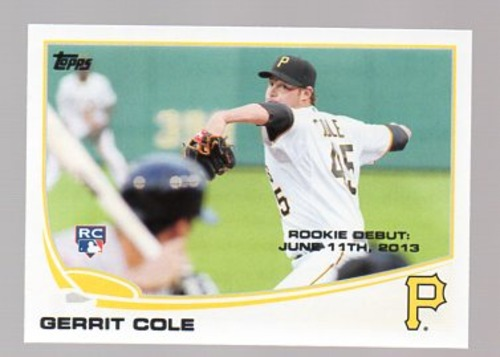 Photo of 2013 Topps Update #US265 Gerrit Cole