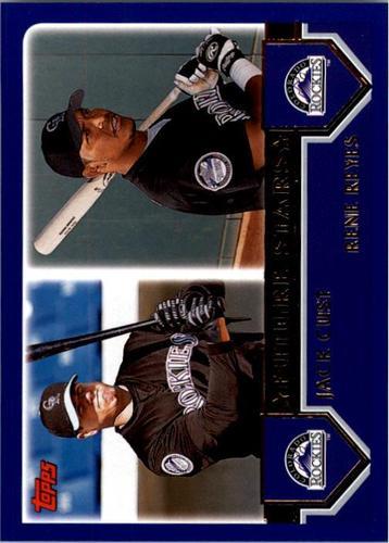 Photo of 2003 Topps #327 J.Cust/R.Reyes FS
