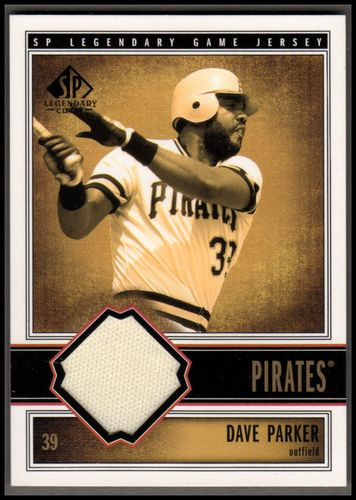 Photo of 2002 SP Legendary Cuts Game Jersey #JDPA Dave Parker Pants DP