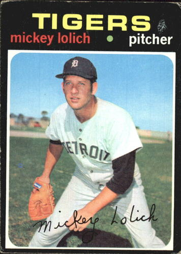 Photo of 1971 Topps #133 Mickey Lolich