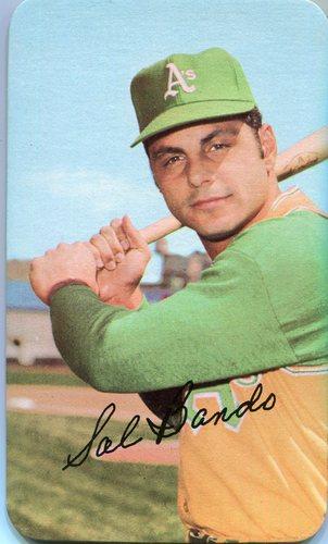 Photo of 1971 Topps Super #57 Sal Bando