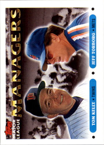 Photo of 1993 Topps #509 Tom Kelly MG/Jeff Torborg MG