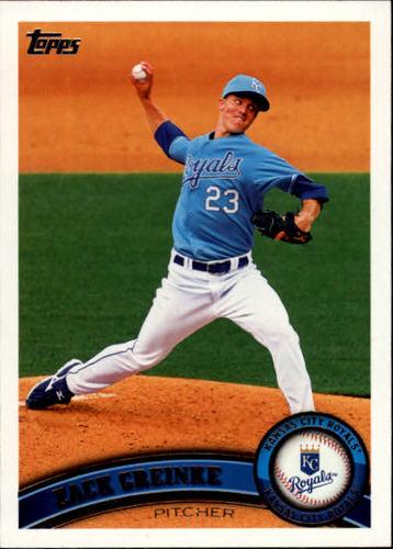 Photo of 2011 Topps #108 Zack Greinke