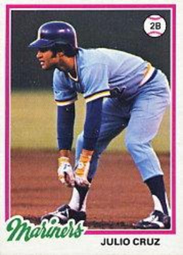 Photo of 1978 Topps #687 Julio Cruz RC