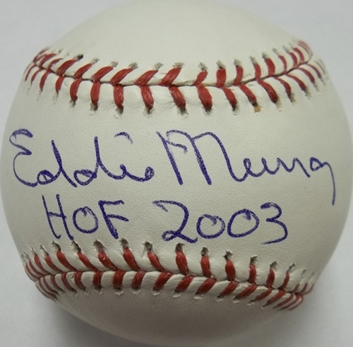 "Photo of Eddie Murray ""HOF 2003"" Autographed Baseball"