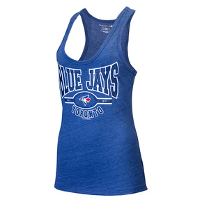 Toronto Blue Jays Women's Triblend Racerback Tank by 5th and Ocean