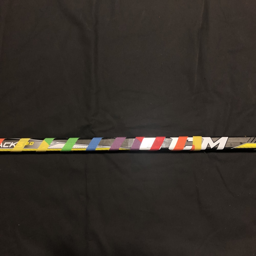 #89 Cory Conacher Tampa Bay Lightning Pride-Taped Warm-Up Stick