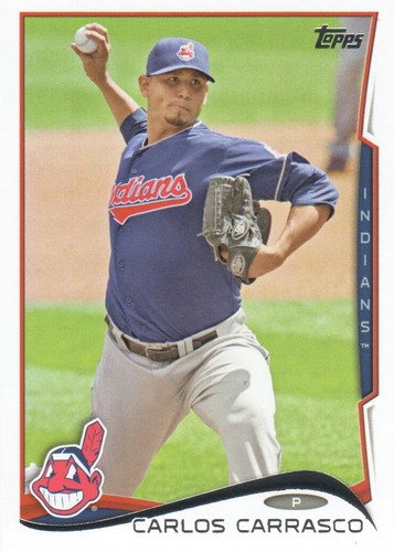 Photo of 2014 Topps #501 Carlos Carrasco