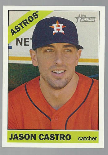 Photo of 2015 Topps Heritage #28 Jason Castro