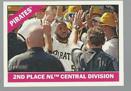 Photo of 2015 Topps Heritage #404 Pittsburgh Pirates