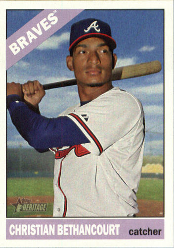 Photo of 2015 Topps Heritage #654 Christian Bethancourt